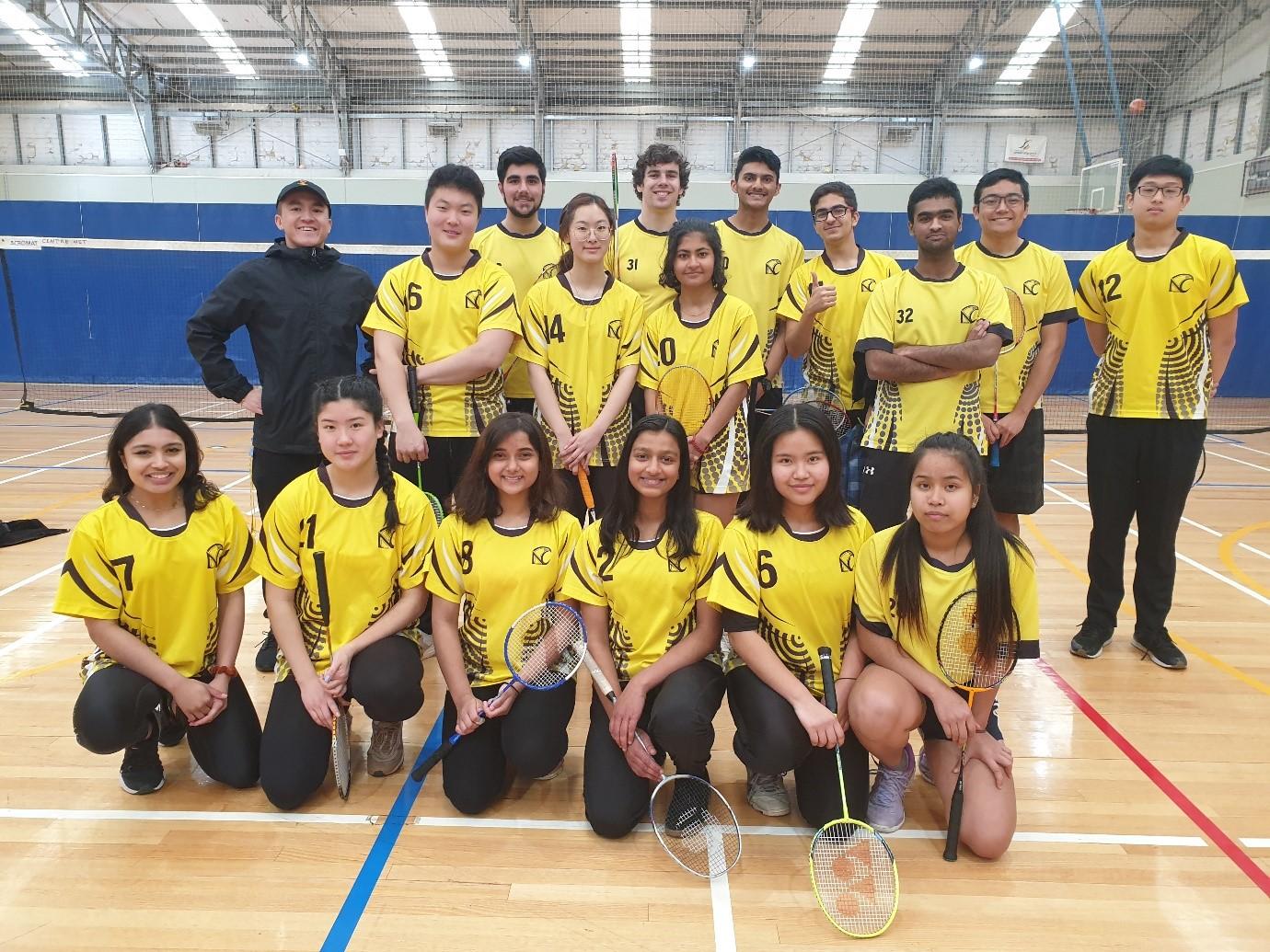 ACT Intercollege Badminton (21/08/20)