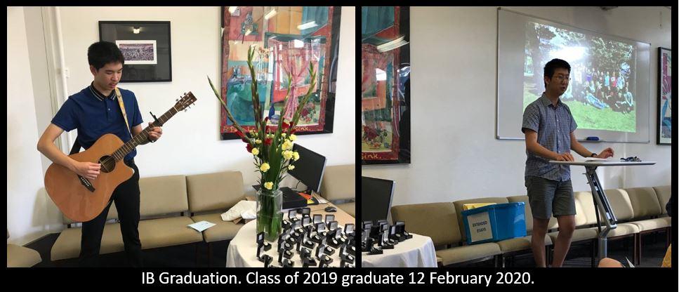 IB Graduation class of 2019
