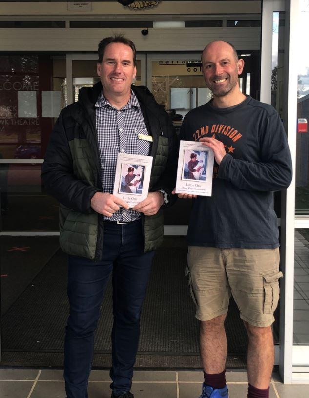 Author Peter Papathanasiou visits NARC